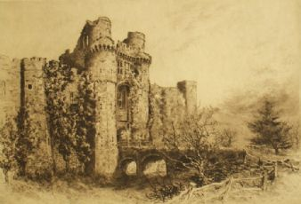 Arthur E. Coombe after Alexander Ansted; 'Herstmonceux Castle'